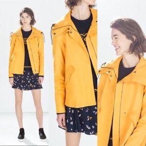 Zara Yellow Utility Jacket